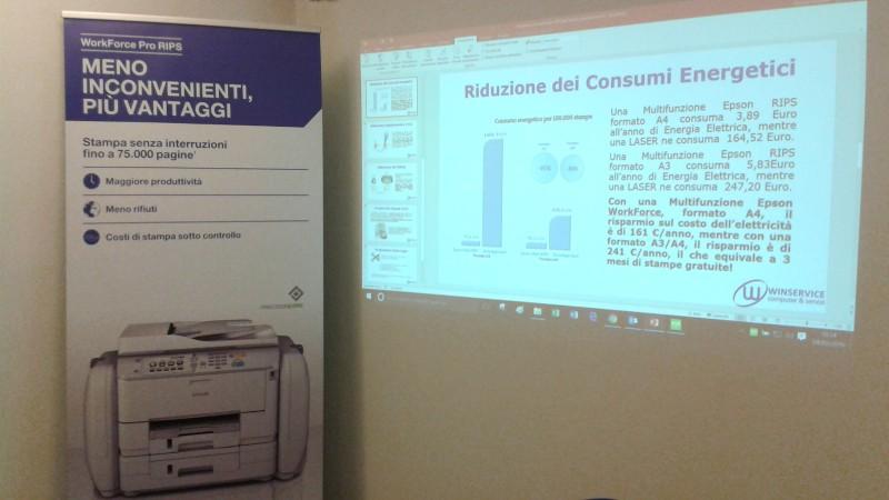 Evento presentazione «Epson RIPS» presso nostra la sede Winservice