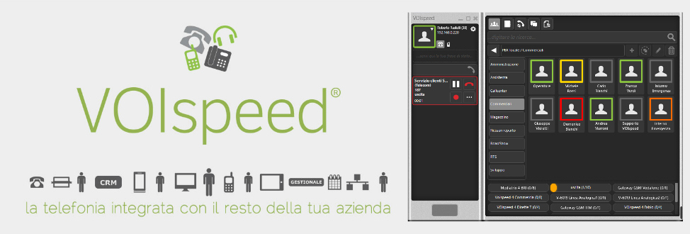 Centralino software voispeed