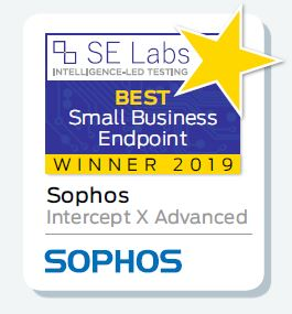 Winservice - Intercept X best small business endpoint SE Labs